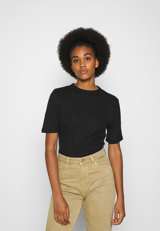 NMELENA SHORT SLEEVE - Print T-shirt - black