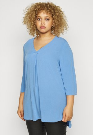 Blouse - sea blue