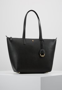 Lauren Ralph Lauren - PEBBLE GRAIN KEATON - Handbag - black - 0
