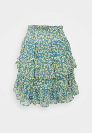 YASCLARIS SUMMER SKIRT  - Mini skirt - blue heaven/claris