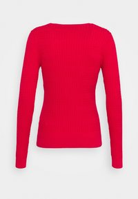 Tommy Hilfiger - ESS CABLE - Jumper - cornell red - 1