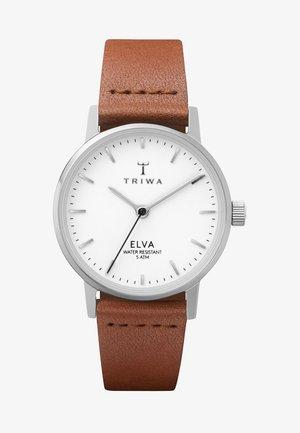 PEARL ELVA - Klokke - white/brown