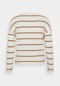 ONLY - ONLCARLA TOP - Jumper - cloud dancer/toasted coconut - 1