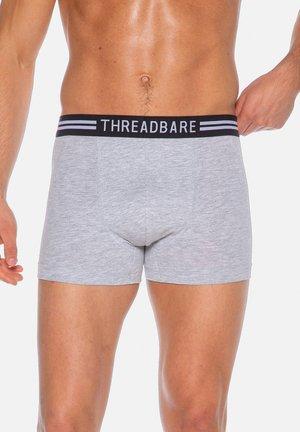 KANAAN 3ER PACK - Pants - black / grey marl / black