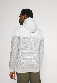 INDICODE JEANS - GARZA - Zip-up sweatshirt - ecru mix - 2