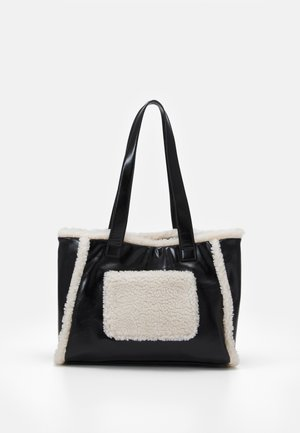 CELIA SHOPPER - Shopping bag - black