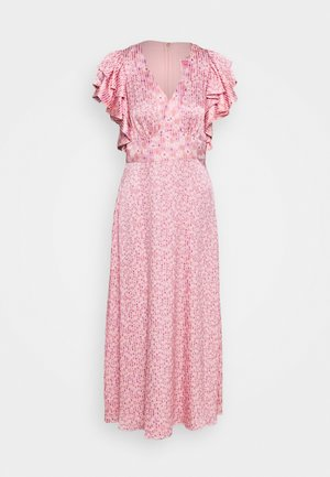 POPPY FIELD DEVORE DRESS - Day dress - freshwater pearl
