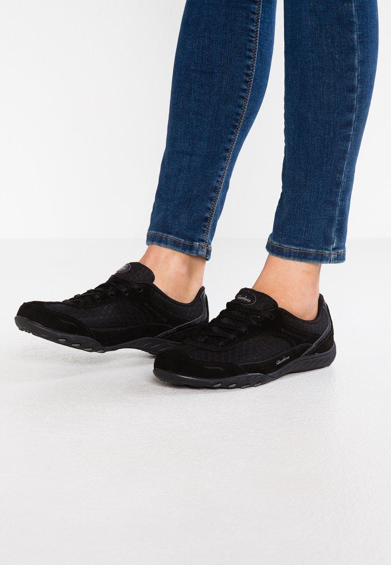 Skechers - BREATHE EASY - Trainers - black