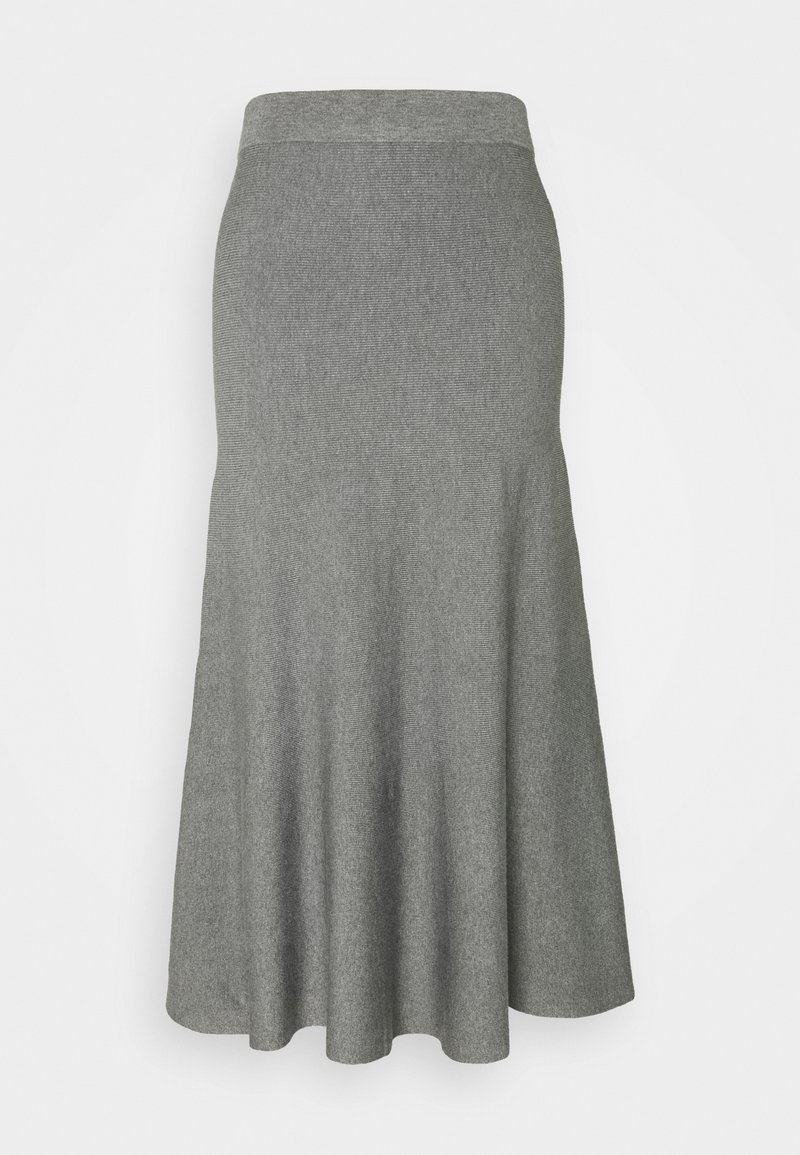 Esprit Collection - Spódnica trapezowa - gunmetal