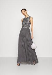 Lace & Beads - PICASSO MAXI - Společenské šaty - charcaol - 1