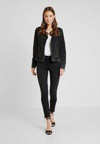 Esprit - Jeans Skinny Fit - black dark wash - 1