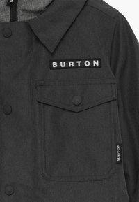 Burton - UPROAR UNISEX - Snowboardová bunda - black denim - 3