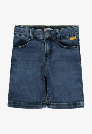 COOLEM LOOK - Denim shorts - ensign blue