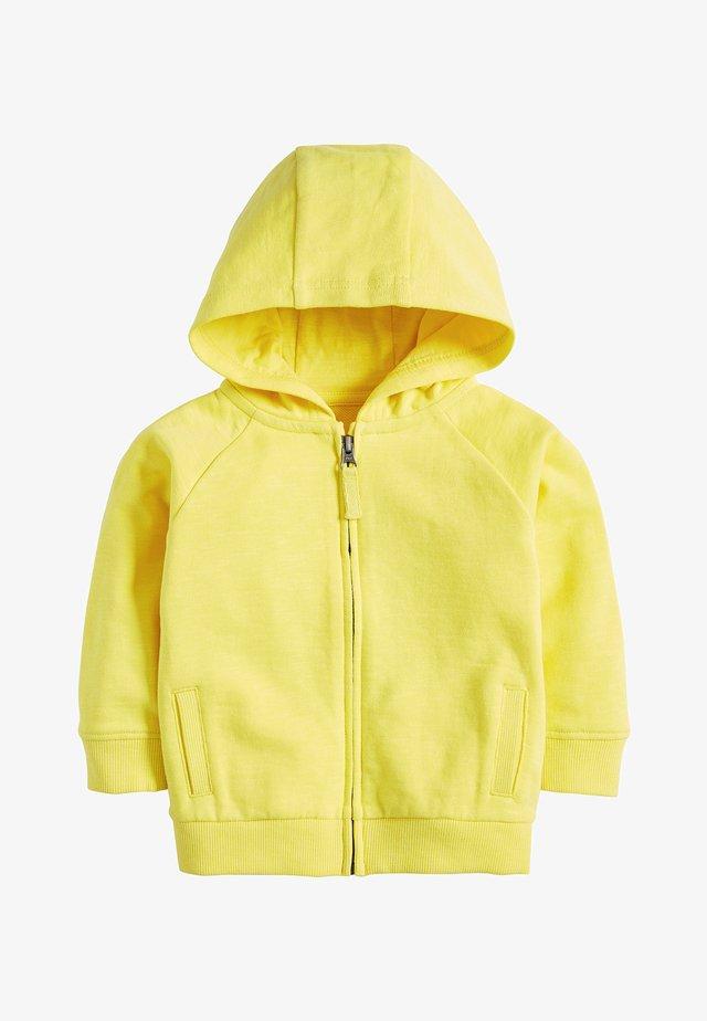 LIGHTWEIGHT  - Huvtröja med dragkedja - yellow