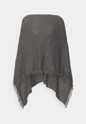 PONCHO - Cape - med grey