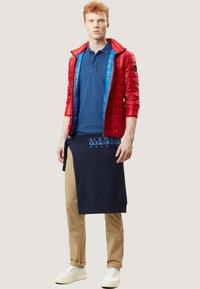 Napapijri - ELBAS - Polo shirt - dark denim - 1