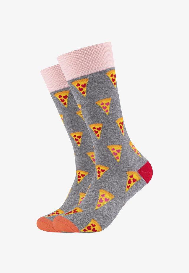 2ER PACK FUNNY PIZZA - Socks - multicolor - 035 heather