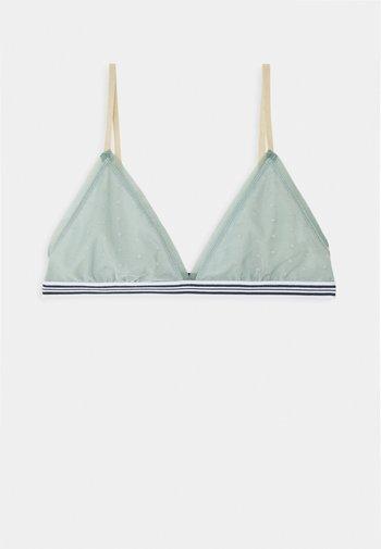 RHOMBUS TASSIE BRA - Triangle bra - blue surf