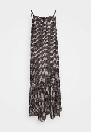 COCO TULUM MAXI DRESS - Strandaccessories - brown/white/black