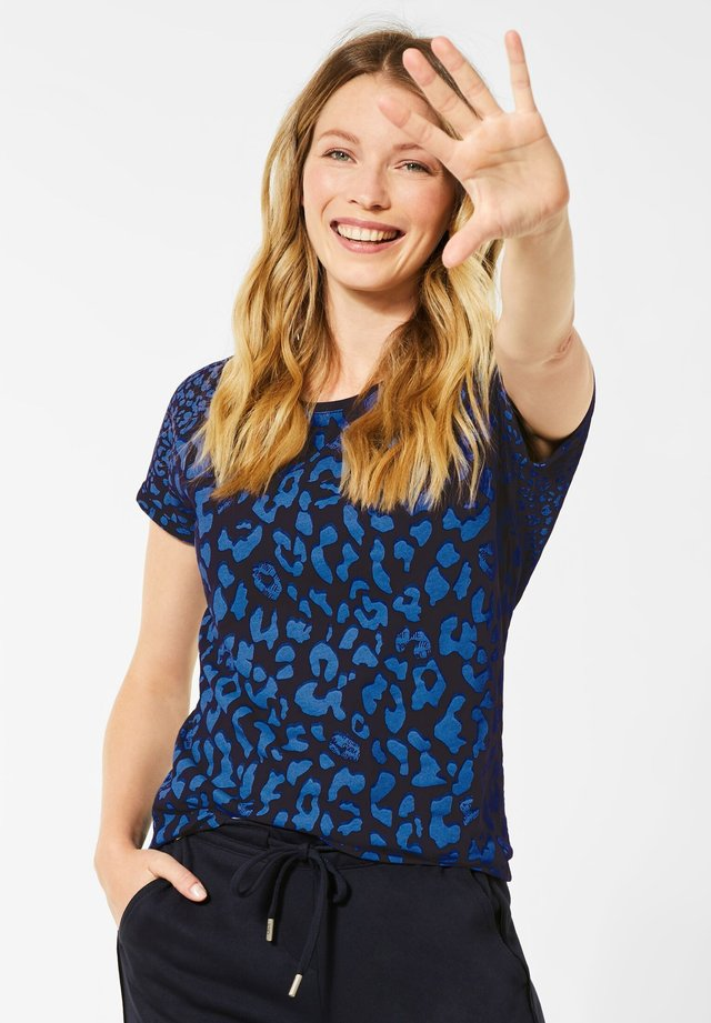 MIT LEO-MUSTERMIX - T-shirt print - blau