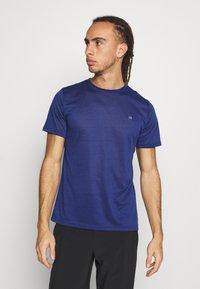 Calvin Klein Golf - 3 PACK - Basic T-shirt - khaki/navy/white - 4