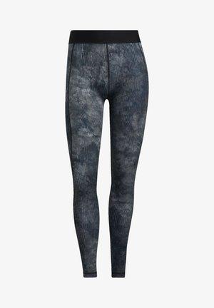 Turf FLORAL L T PRIMEGREEN TECHFIT WORKOUT COMPRESSION LEGGINGS - Collants - black