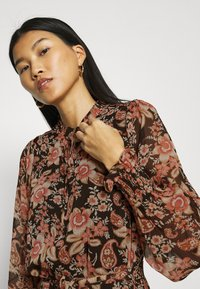 Esqualo - DRESS FLOWER PRINT - Day dress - multicoloured - 3