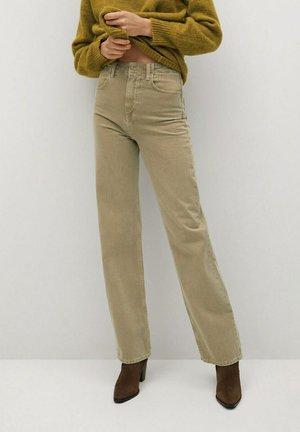 LOLA-I - Straight leg jeans - kaki