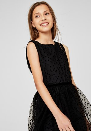 Day dress - black dots
