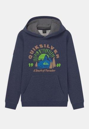 BIG LOGO SNOW HOODIE UNISEX - Sweatshirt - insignia blue