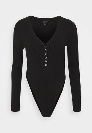 AINO  - Long sleeved top - black