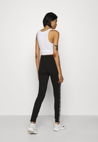 Fila - TASYA - Leggings - Trousers - black/bright white - 2