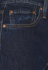Levi's® - 501® MID THIGH SHORT - Denim shorts - salsa center - 6