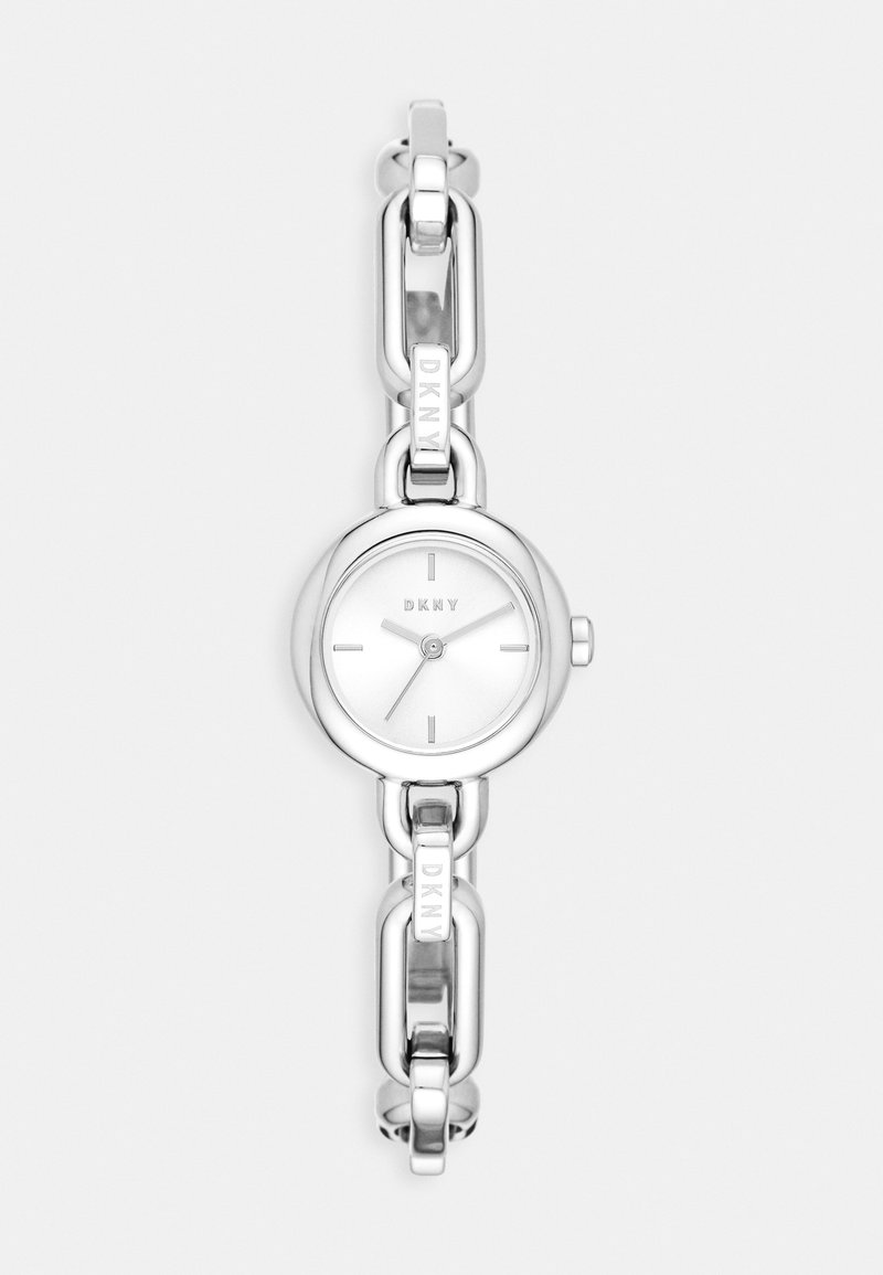 DKNY - ROUND UPTOWN - Watch - silver-coloured