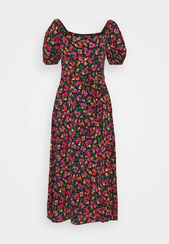 BIANCA - Robe longue - black pattern