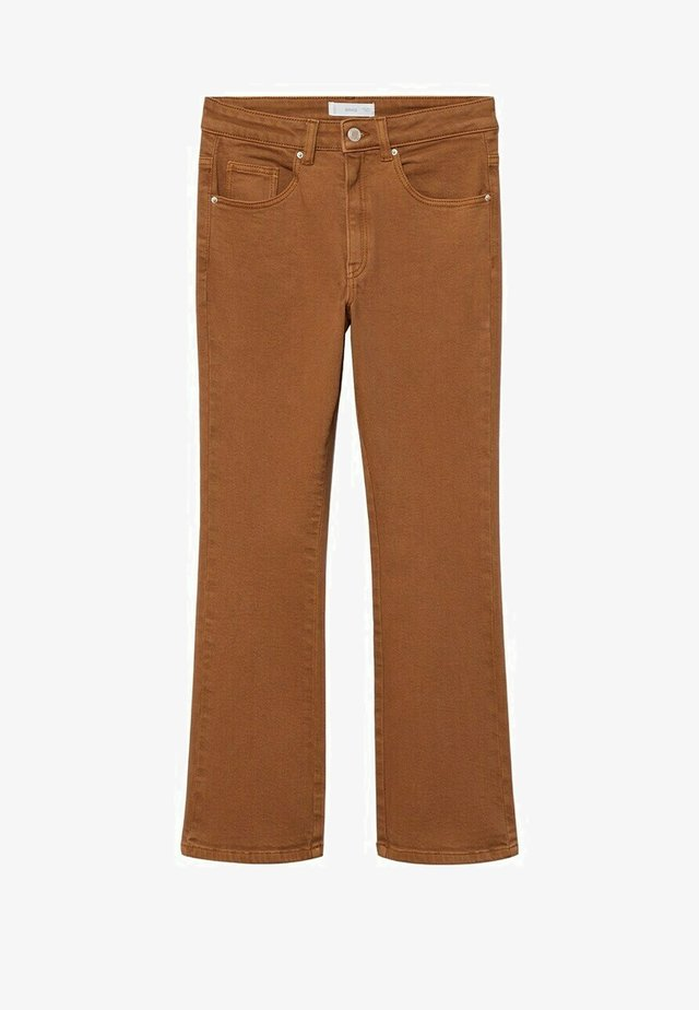 Flared Jeans - bruin