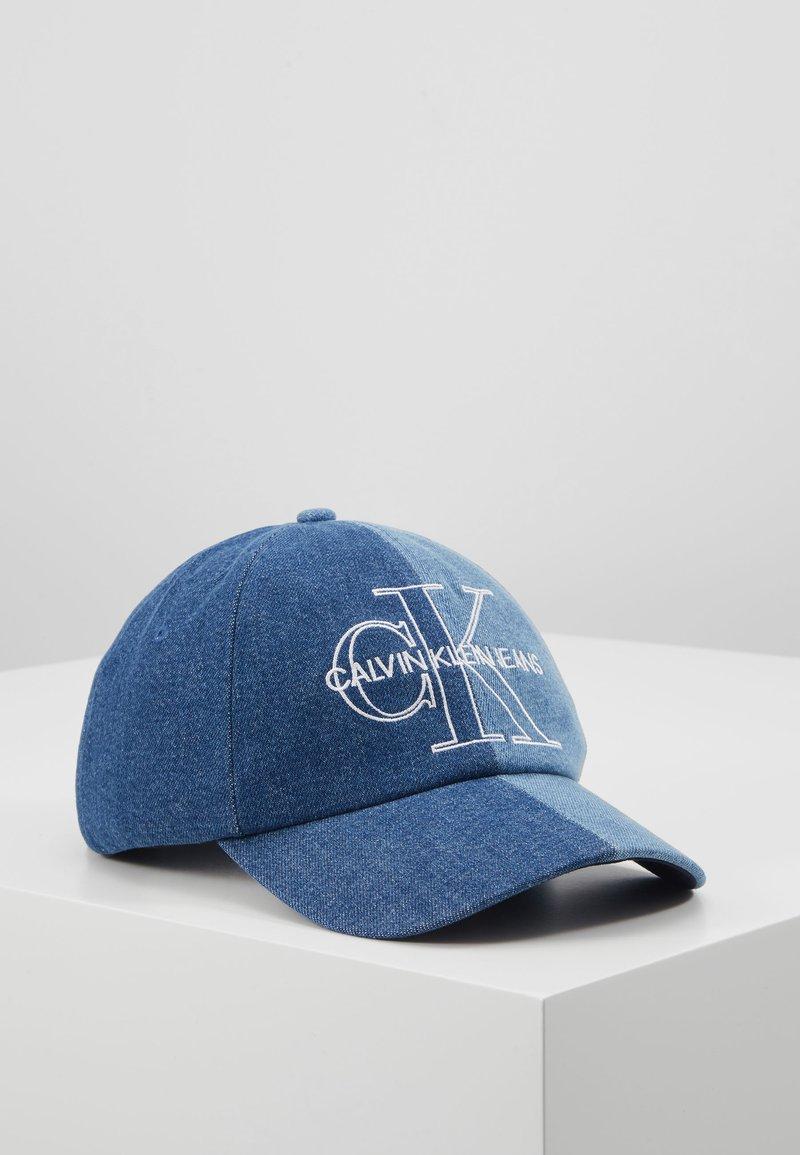 Calvin Klein Jeans - SPLIT  - Cap - blue