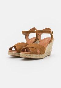 Minelli - Sandały na platformie - tan - 2