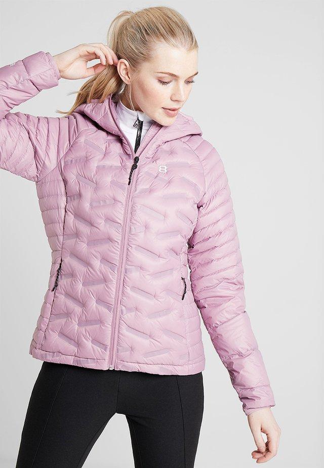 LARA LINER - Chaqueta de esquí - rose