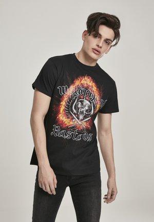 MISTER TEE HERREN MOTÖRHEAD BASTARDS TEE - Print T-shirt - black