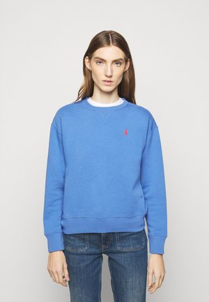 LONG SLEEVE - Felpa - resort blue
