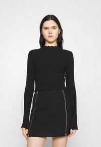 Monki - BLAZE 2 PACK - Long sleeved top - black / white - 3