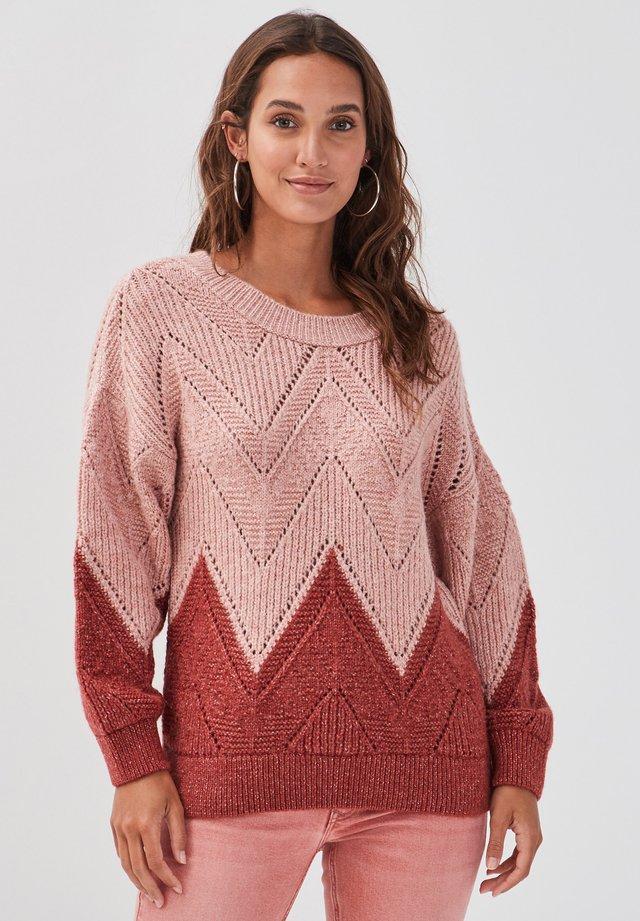 Pullover - rose pastel