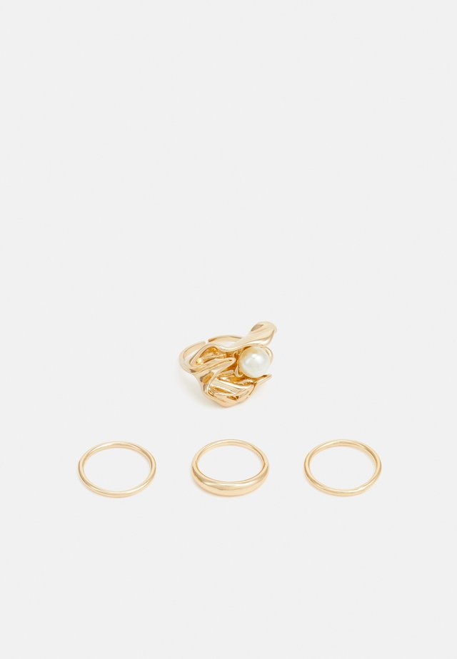 PCHOLLY 4 PACK - Anello - gold-coloured