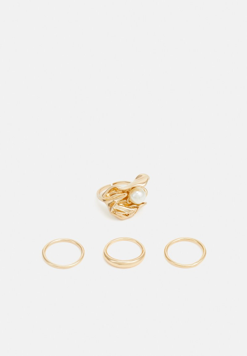 Pieces - PCHOLLY 4 PACK - Ringe - gold-coloured