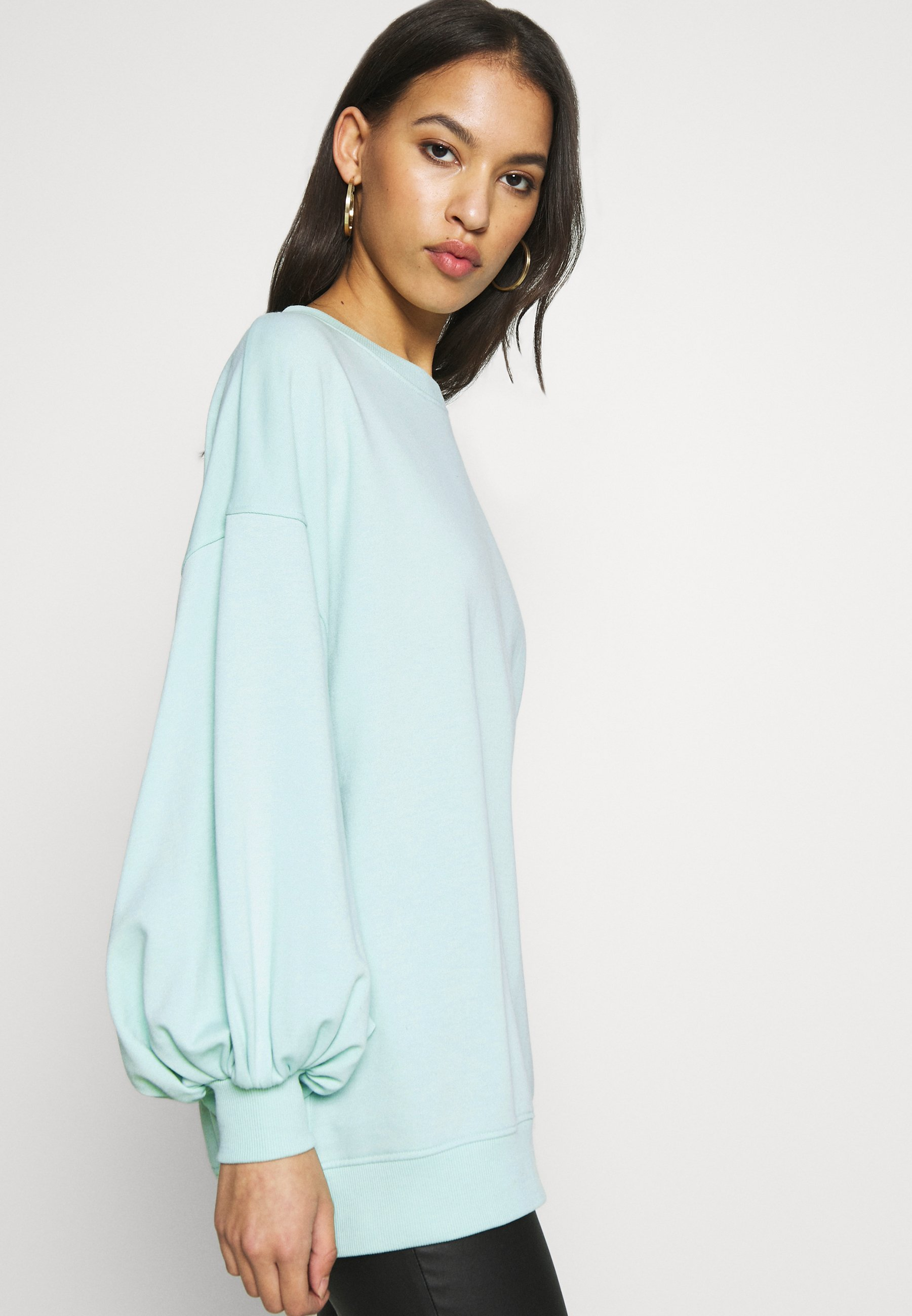 Missguided EXTREME OVERSIZED Sweater pastel greenGroen