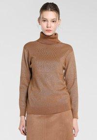 Apart - Pullover - karamell - 0