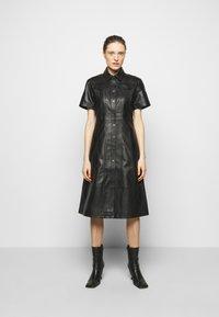 Proenza Schouler White Label - DRESS - Shirt dress - black - 0