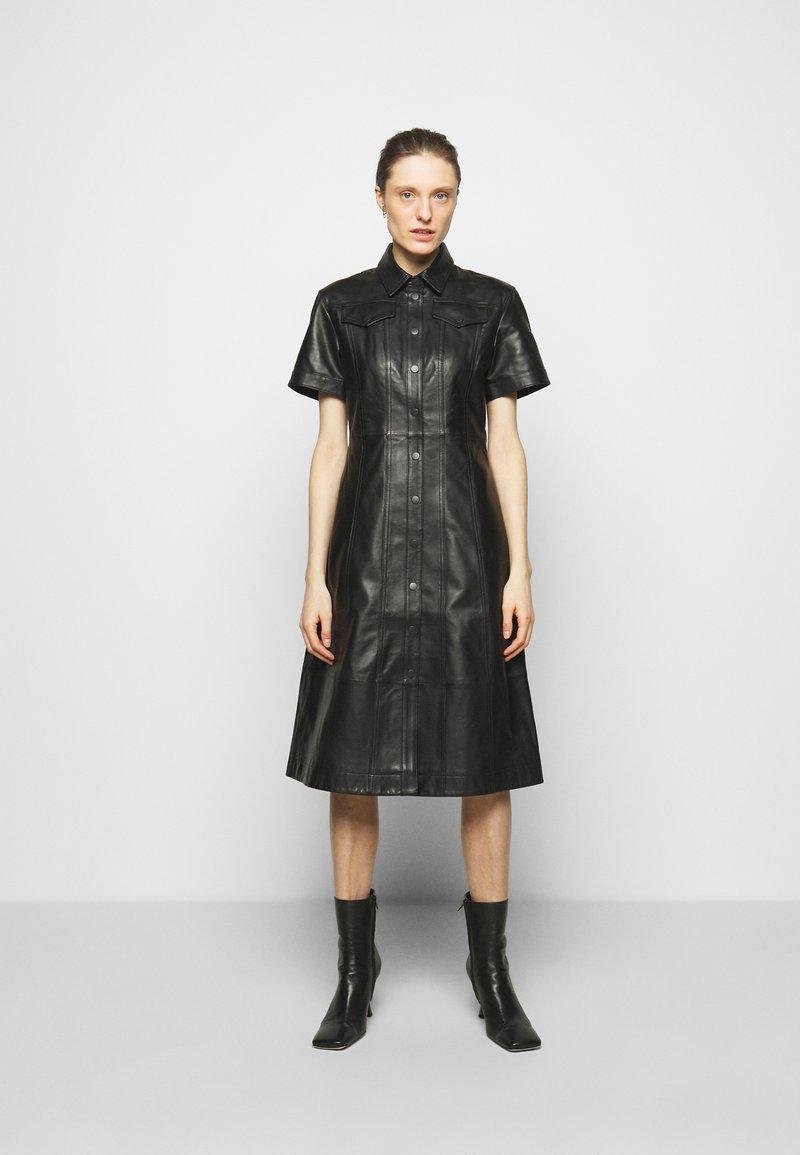 Proenza Schouler White Label - DRESS - Shirt dress - black