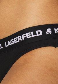 KARL LAGERFELD - LOGO BRIEF 2 PACK - Briefs - black - 3